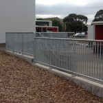 Mild Steel Balustrade and Handrail
