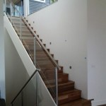 Stainless Steel Handrail and Glass Balustrade