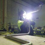 Stainless steel food grade pipework in Geelong